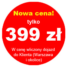 Nowa cena szkolenia - 399 zł